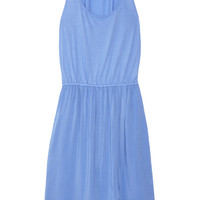 Splendid Jersey and voile tank dress – 59% at THE OUTNET.COM