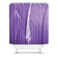 DENY Designs Home Accessories | Rosie Brown Purple Palms Shower Curtain