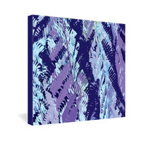DENY Designs Home Accessories | Rosie Brown Amethyst Ferns Gallery Wrapped Canvas