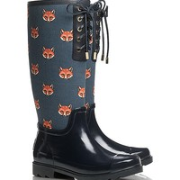 Fox Lace Up Rainboot