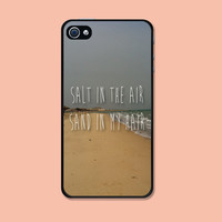 Iphone case Salt in the air Sand in my hair Beach Sand Iphone 4 case cool awesome Iphone 4s case
