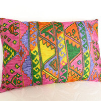 Kids Boho Chic Decorative Pillows New Spring by PillowThrowDecor