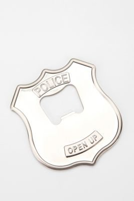 UrbanOutfitters.com > Police Badge Bottle Opener