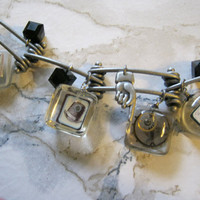 Steampunk Charm Bracelet by jansbeads on Etsy