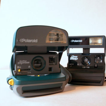 POLAROID 2 PACK // VINTAGE Camera Collection by ACESFINDSVINTAGE