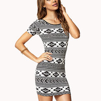Tribal Print Bodycon Dress | FOREVER 21 - 2062743987