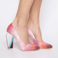 Crystal light heels -Fashion -Super-Market