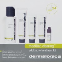 Dermalogica Dermalogica MediBac Clearing Adult Acne Treatment Kit: Beauty