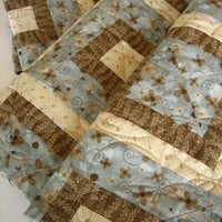 Handmade Quilt Simple Times | PatchworkMountain - Quilts on ArtFire