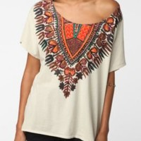 Plains Necklace Dolman Tee