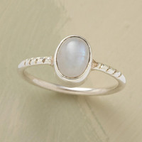 MISTY MOONSTONE RING