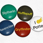 Harry Potter Inspired Hogwarts Houses - Set of 5 Magnets