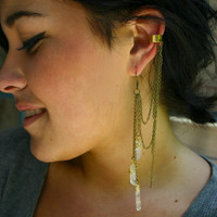 Quartz Point Ear Cuff