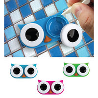 Kikkerland Design Inc   » Products  » Contact Lens Owl Case