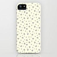 Hearts Pattern #2 iPhone & iPod Case by Ornaart