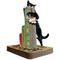 ThinkGeek :: Cats Attack! Scratching Post
