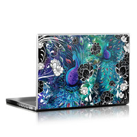 Laptop Skin - Peacock Garden by Juleez