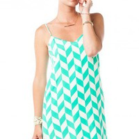 Viceroy Strap Dress in Mint - ShopSosie.com