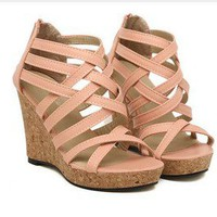 Slugged bottom Gladiator Shoes sandals