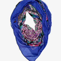 Abstract Southwestern Scarf | FOREVER 21 - 1035499032
