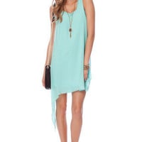 By the Balance Tank Dress in Mint :: tobi