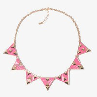 Geo Pattern Necklace