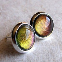 Dragon&#x27;s Eye Stud Earrings