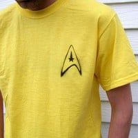 STAR TREK Insignia inspired SHIRT by OpticThreads Costume Halloween | PoppysWickedGarden - Clothing on ArtFire
