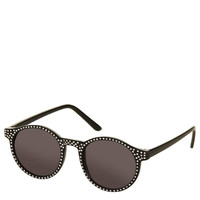 Diamante Round Sunglasses - Sunglasses - Topshop
