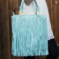 LYDC Mint Festival Bag from Emallie Fashion