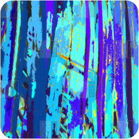 DENY Designs Home Accessories | Rosie Brown Blue Palms 2 Wall Art