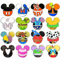 Disney Mickey Mouse Icon Mystery Pin Set - 5-Pc | Disney Store