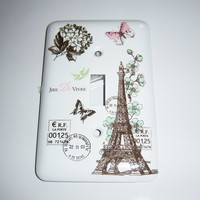 Parisian themed  light switch cover