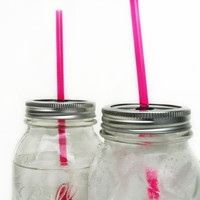 1 DIY Mason Jar ToGo Tumbler Lid  Reuseable by TheCountryBarrel