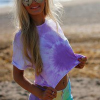 Tye Dye Shorts  from Aleena's Boutique