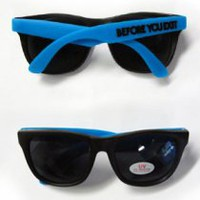 Before You Exit Shades (Blue Frames)