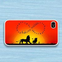 brcase — Infinity Hakuna matata : Case For Iphone 4/4s ,5 /Samsung S2,3,4