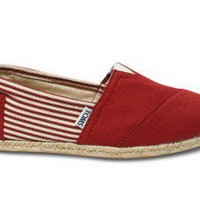 University Red Rope Sole Classics | TOMS.com