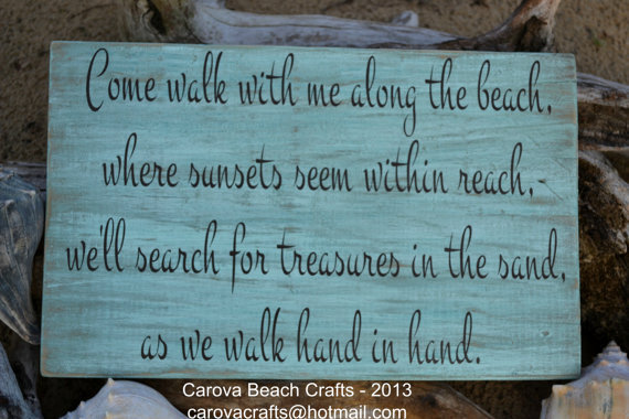 Beach Sign Beach Decor Beach Wedding From Signs Of Love