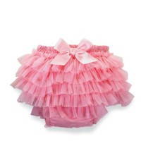 Amazon.com: Mud Pie Baby-Girls Newborn Pretty In Pink Chiffon Bloomers: Clothing