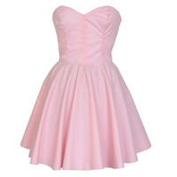 Pastel Pink Party Dress | Style Icon`s Closet