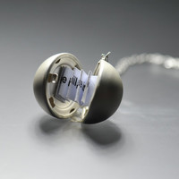 Secret Message Locket   Secret  Ball Locket by fantasticgift