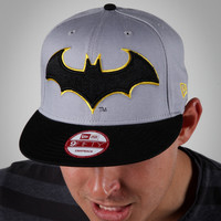 New Era Batman Snap Back Flatbill