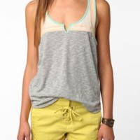 UrbanOutfitters.com &gt; BDG Colorblock Tank Top