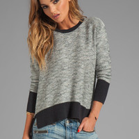 10 CROSBY DEREK LAM RUNWAY Crew Neck Sweater in Black from REVOLVEclothing.com