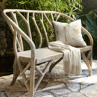 """Faux Bois"" Outdoor Furniture - Horchow"