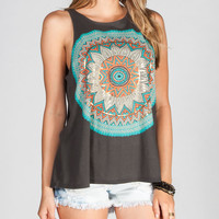 O'neill Sundial Womens Tank Off-Black  In Sizes
