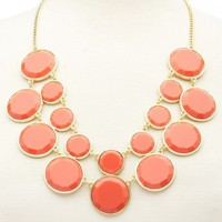 Double Layer Statement Necklace: Charlotte Russe