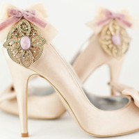 The Great Gatsby, Vintage Wedding Shoe clips