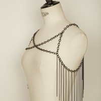 FRINGED SHOULDERS - SMALL - Cornelia Webb Online Shop